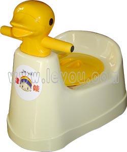 津娃鸭子座便器1岁以上儿童适用卡通外形