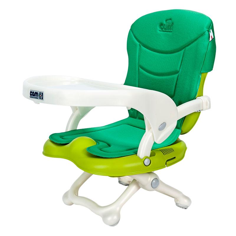 CAM(意大利)原装进口多功能便携式婴幼儿餐椅-绿色