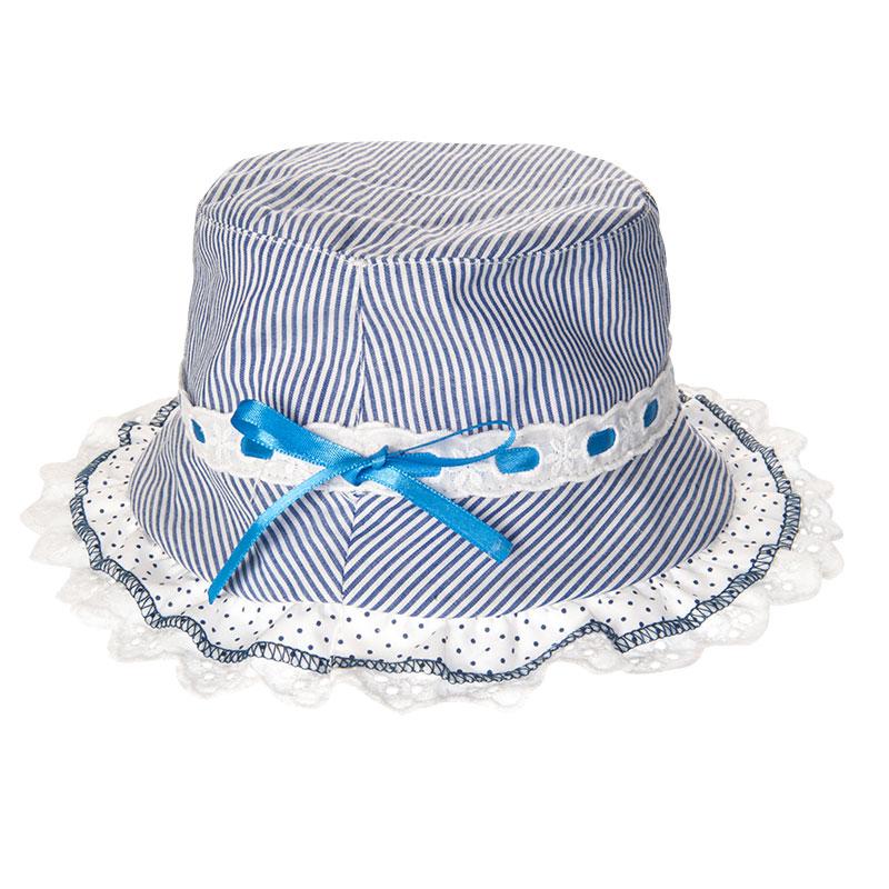 歌瑞凯儿蕾丝公主帽(蓝) 42