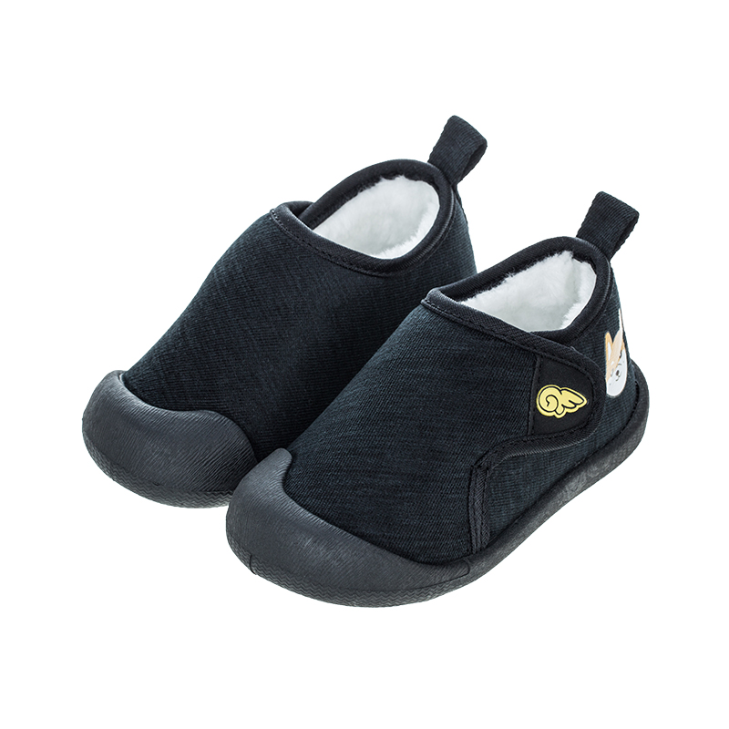 歌瑞贝儿(新)男婴宝宝鞋GBR4-012SH黑13.5CM双