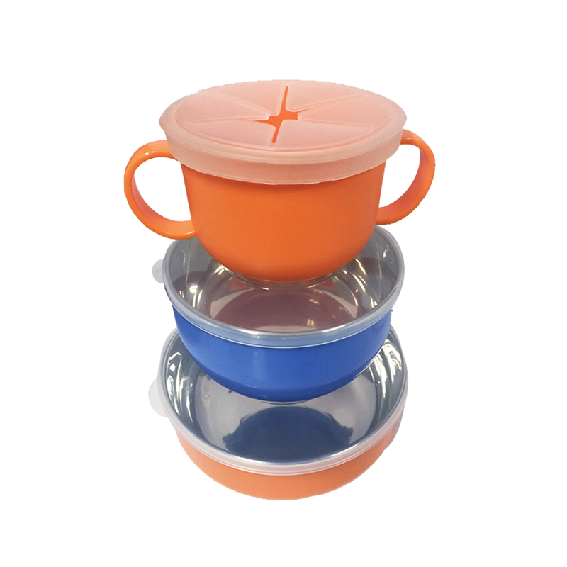 JFZP--5000积分礼品--儿童专用不锈钢隔热餐具套装