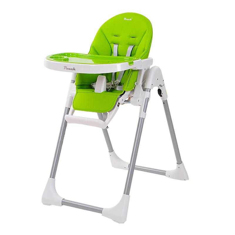 Pouch简约多功能便携婴儿餐椅K06绿色