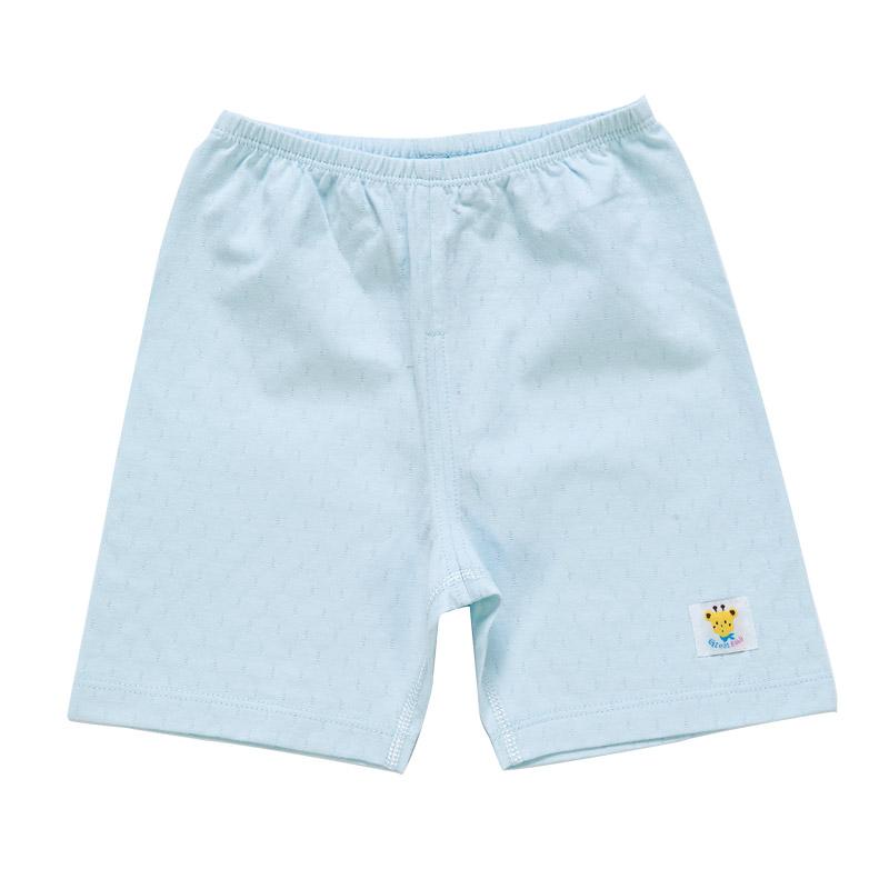 歌瑞贝儿(新)--单面提花皇冠短裤(夏)GB142-611KF蓝66cm