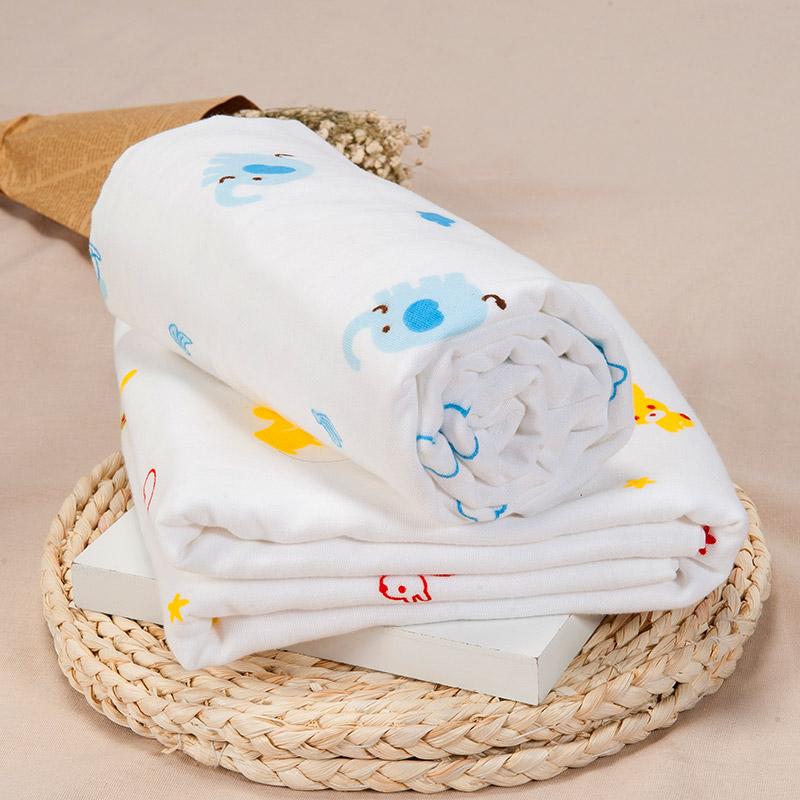 歌瑞家greatfamily小象竹纤维+毛圈浴巾正方形混色
