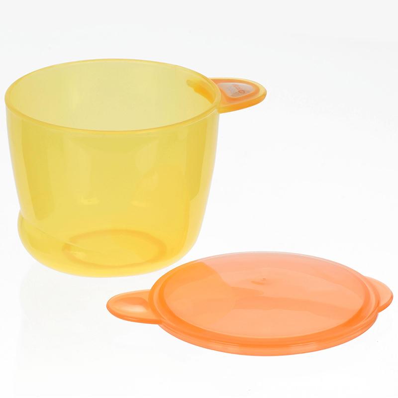 韦特儿Vital多功能食物储存罐4个装黄色安全PP材质不含双酚A