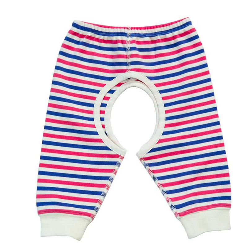 歌瑞贝儿(新)--40支双面色织开裆长裤(春)GB141-330ZC粉59cm