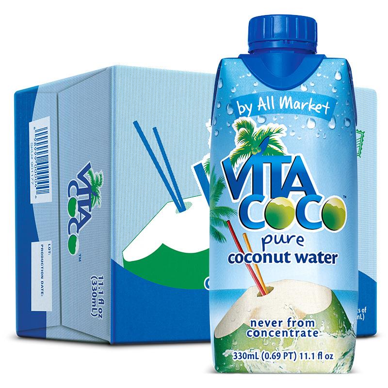 唯他可可--椰子水330ml/瓶