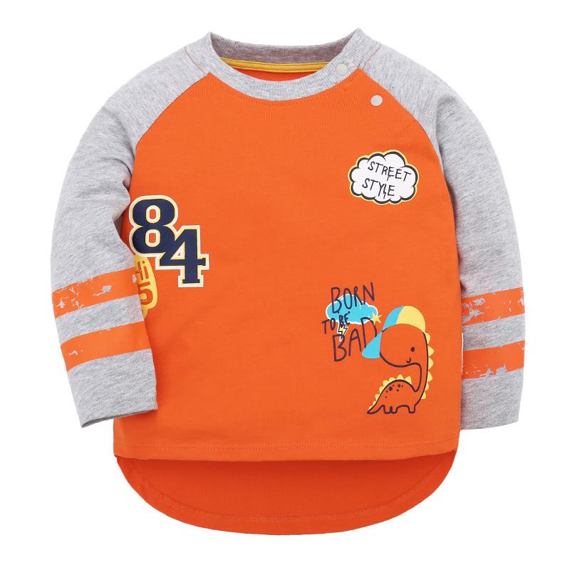 歌瑞家A类橙色男婴T恤