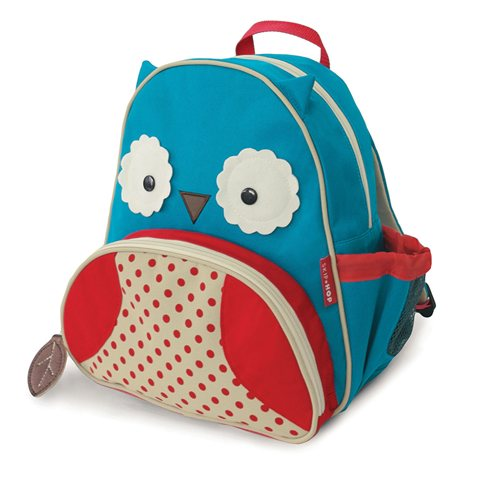 【美国直邮】美国SKIPHOP可爱动物园小童背包-猫头鹰
