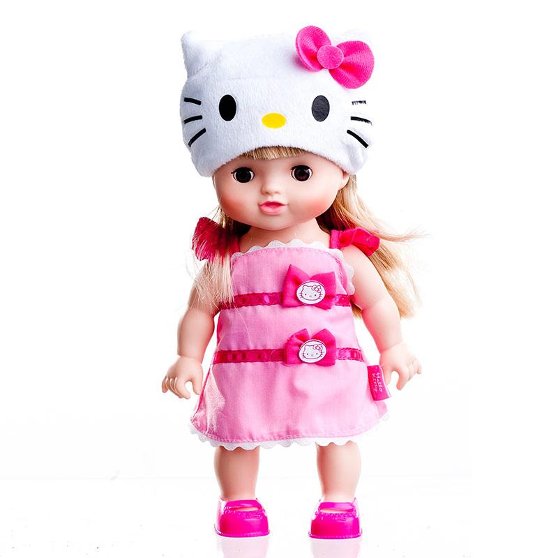 星月粉色Kitty小璐宝女孩玩具换装娃娃
