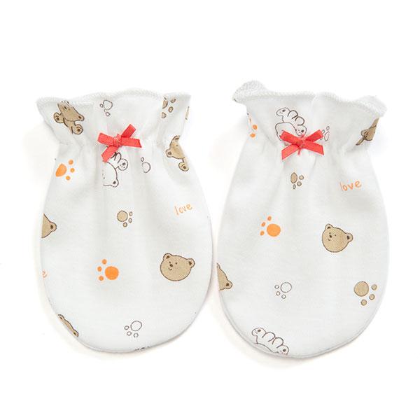 歌瑞贝儿(新)--双面布小熊乐园护手套GB130-151混色混码cm