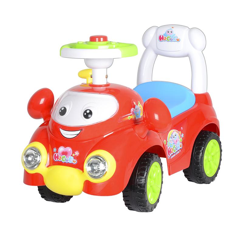智乐堡哈宝宝坐行车红色
