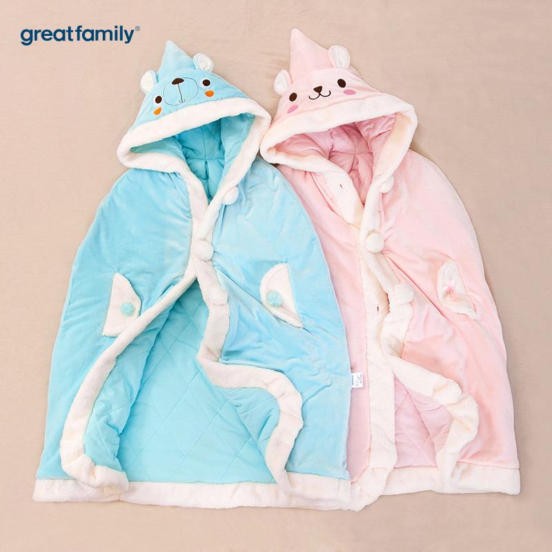 歌瑞家(Greatfamily)A类披风礼盒粉色80*