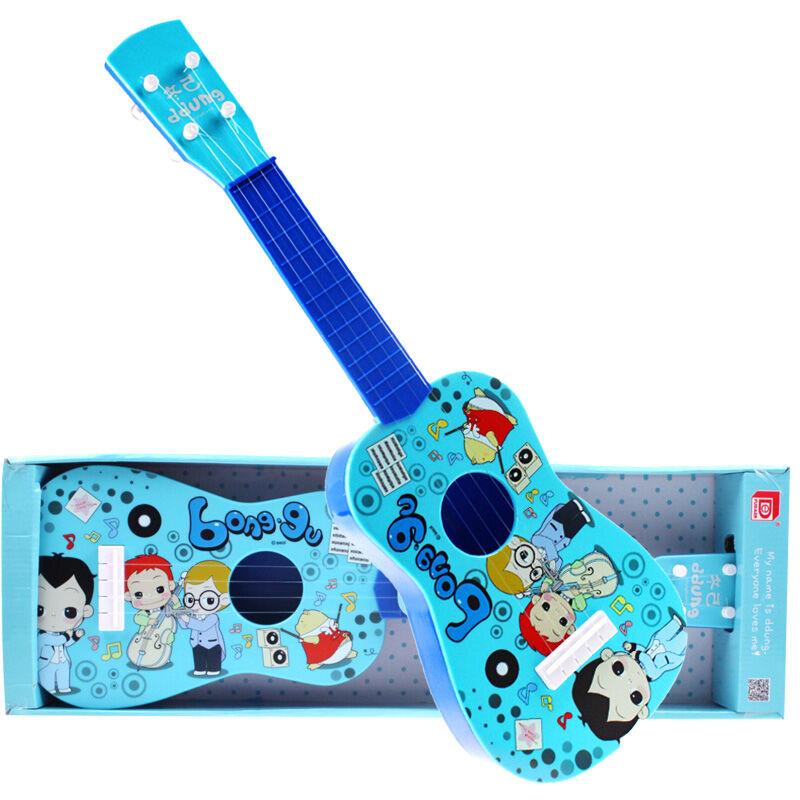 冬己可弹奏吉他乐器 蓝色