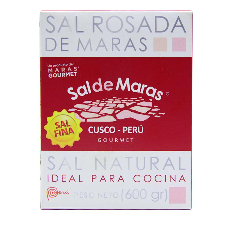 山泉盐L-秘鲁玛拉斯粉色食用盐(玫瑰盐)600g