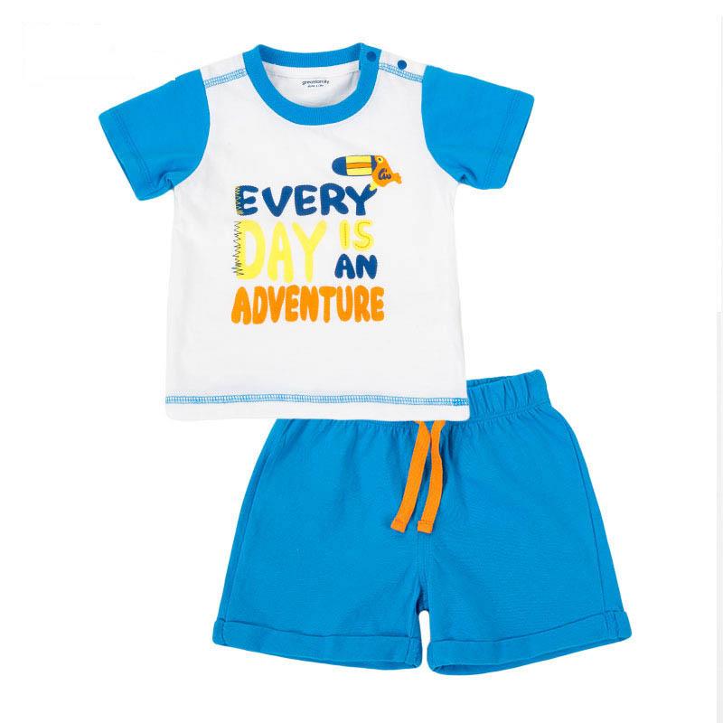 歌瑞家A类男宝宝T恤套装3色可选
