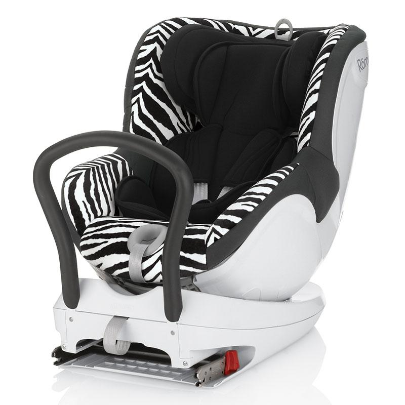 宝得适(britax)双面骑士宝宝婴儿儿童汽车安全座椅宝宝座椅机灵小斑马0-4岁