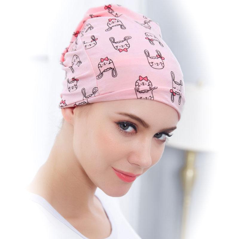 歌瑞家greatfamily粉色月子堆堆帽