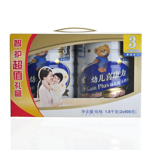雅培--金装幼儿喜康力两桶装1800g