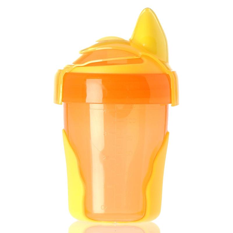 英国韦特儿Vital一阶段启蒙水杯120ml橙色