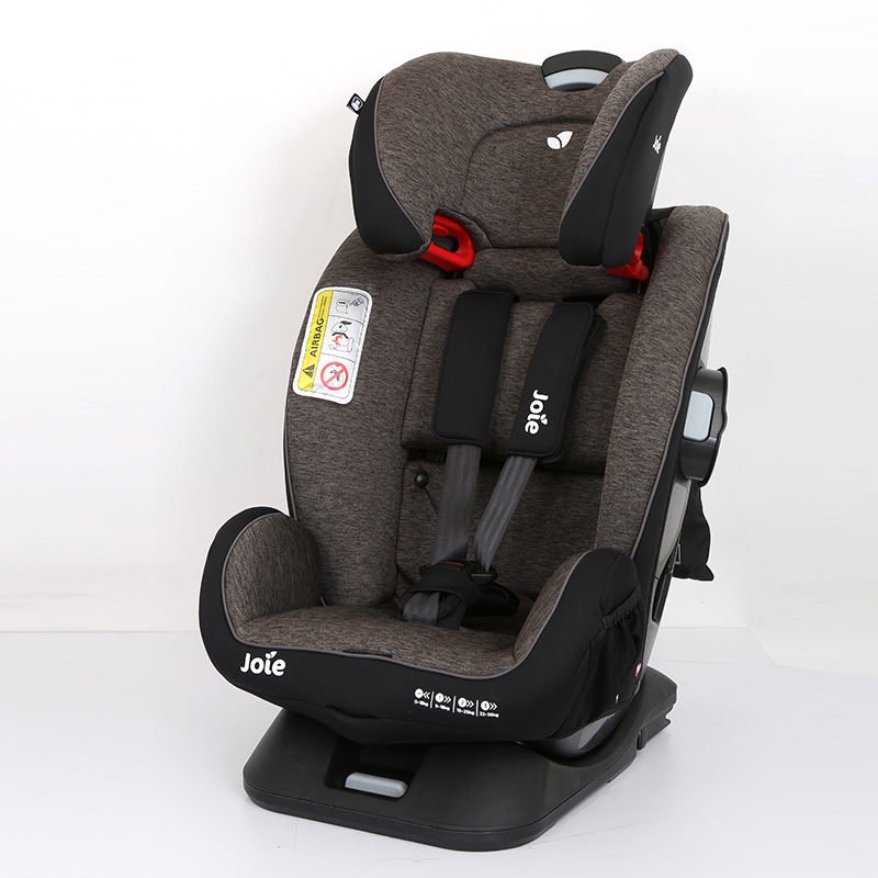 巧儿宜(Joie)儿童双向安全座椅安全守护神FX(灰色)0-12岁isofix接口