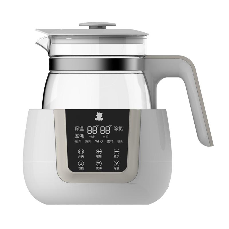 小白熊智能液晶恒温调奶器30秒冲好奶5分钟烧开水冲辅食冲咖啡泡茶24小时准确恒温