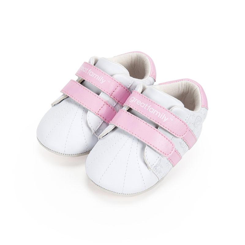 歌瑞家女婴运动宝宝鞋粉