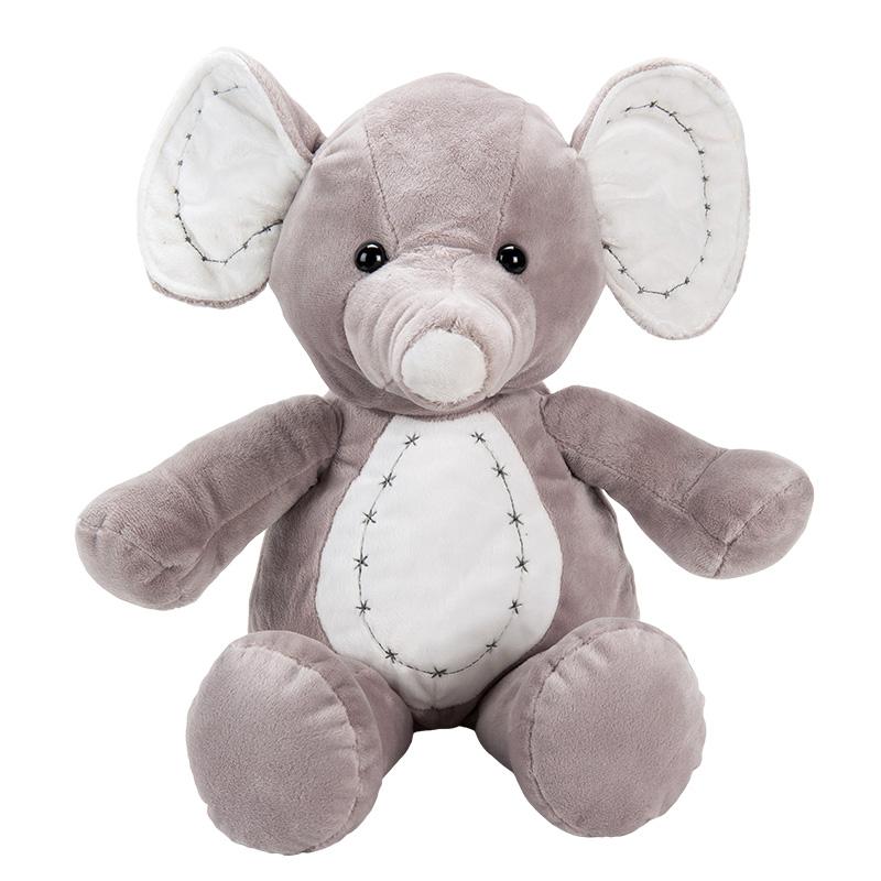 字母(毛绒)-灰象