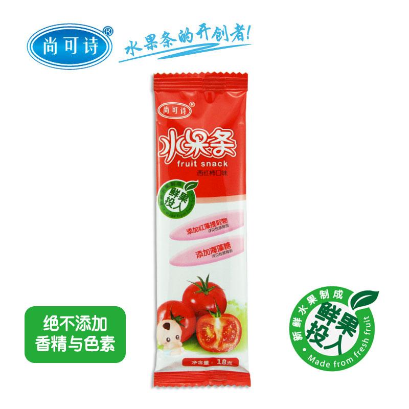 尚可诗西红柿水果条18g