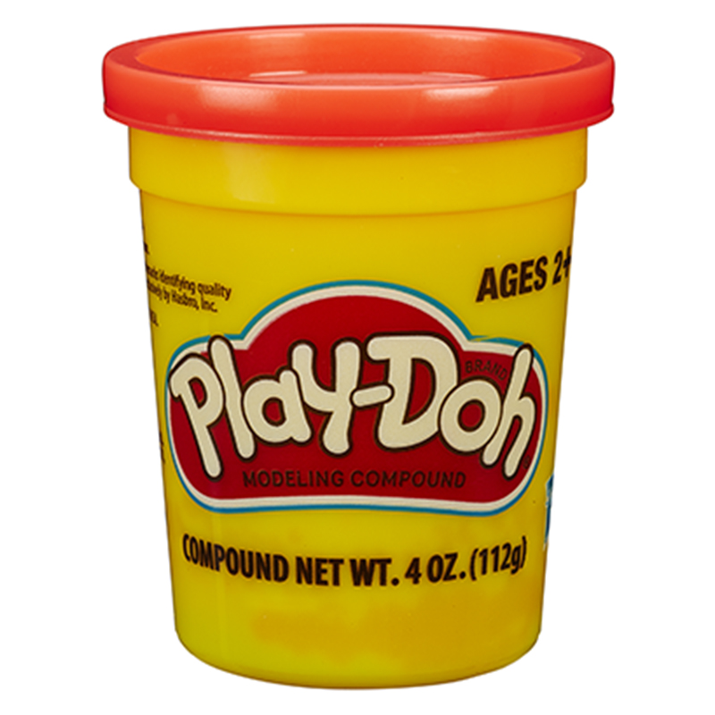 孩之宝(Hasbro)培乐多单杯装新版-亮红色