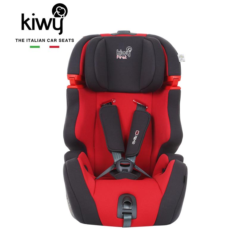 kiwy凯威意大利原装进口9个月-12岁安全座椅SF123 至尊红