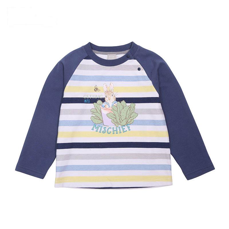 歌瑞家(比得兔)A类男童条纹长袖T恤