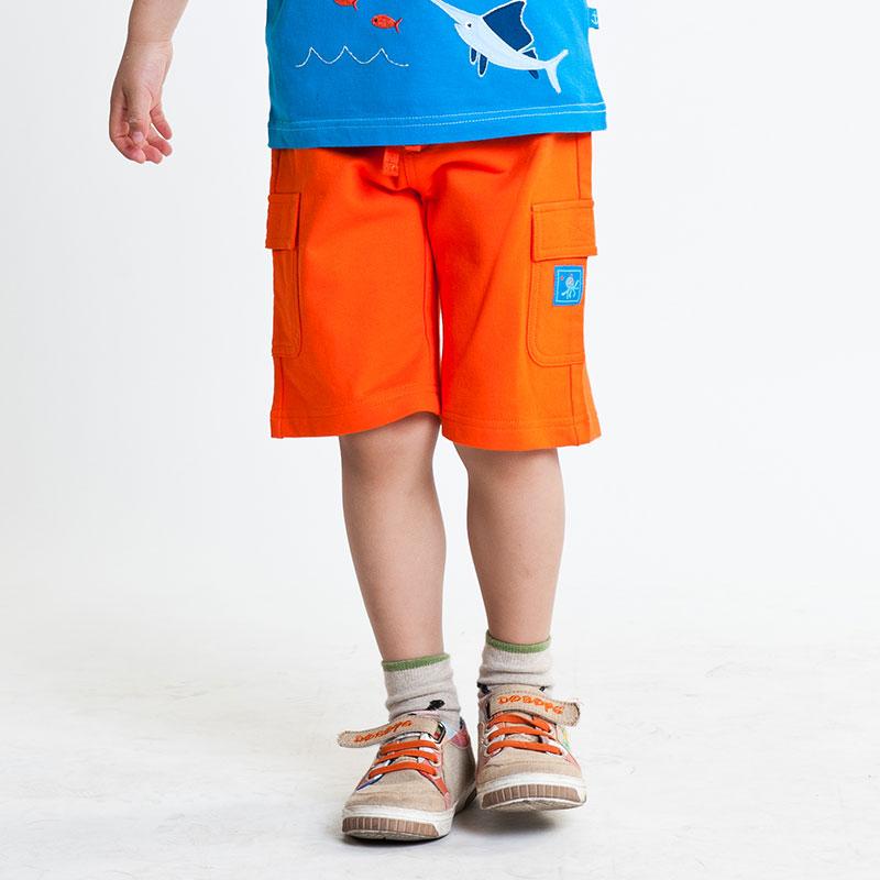 男童针织五分裤(夏)