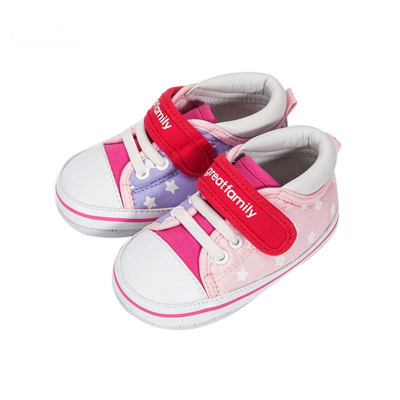 歌瑞家女婴色彩宝宝鞋