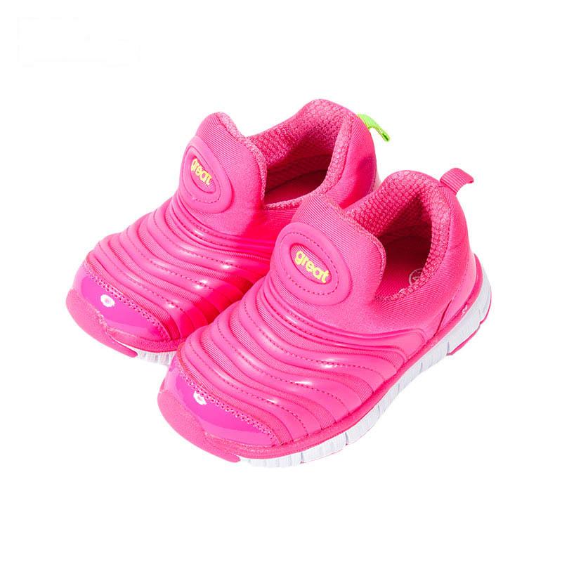 歌瑞家greatfree女婴小毛虫运动鞋