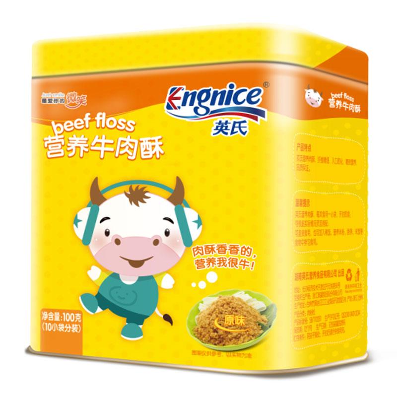 英氏Engnice营养牛肉酥100g