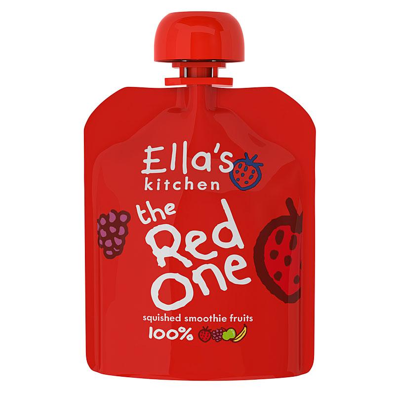 艾拉厨房--红色混合果泥90g