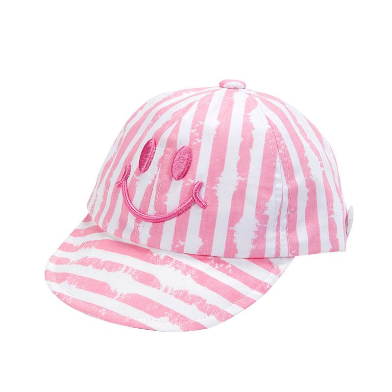 歌瑞家女童粉色鸭舌帽
