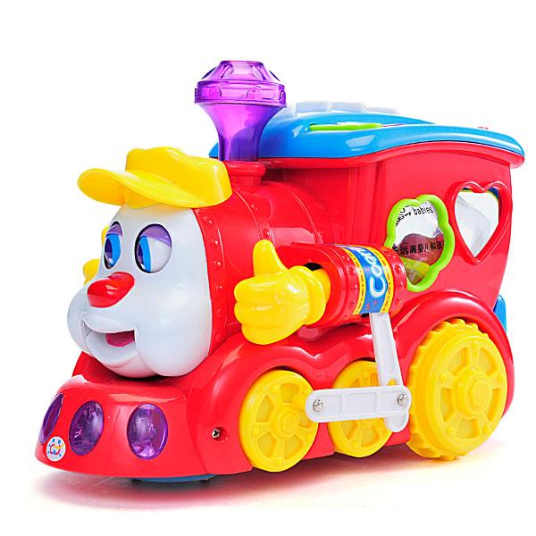 汇乐智能问答卡通火车 儿童电动托马斯
