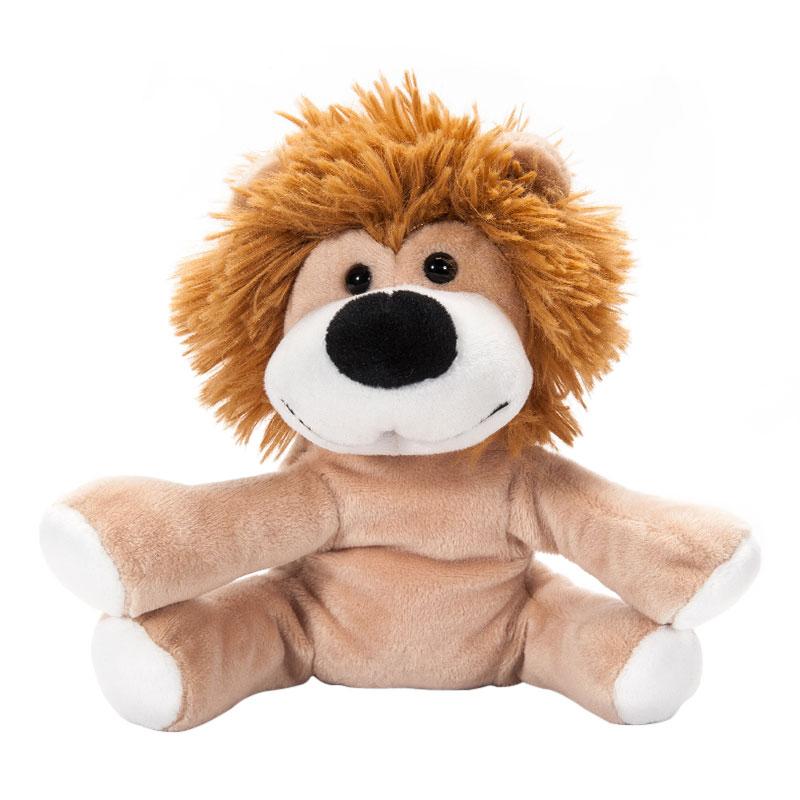 字母毛绒玩具野生动物狮子
