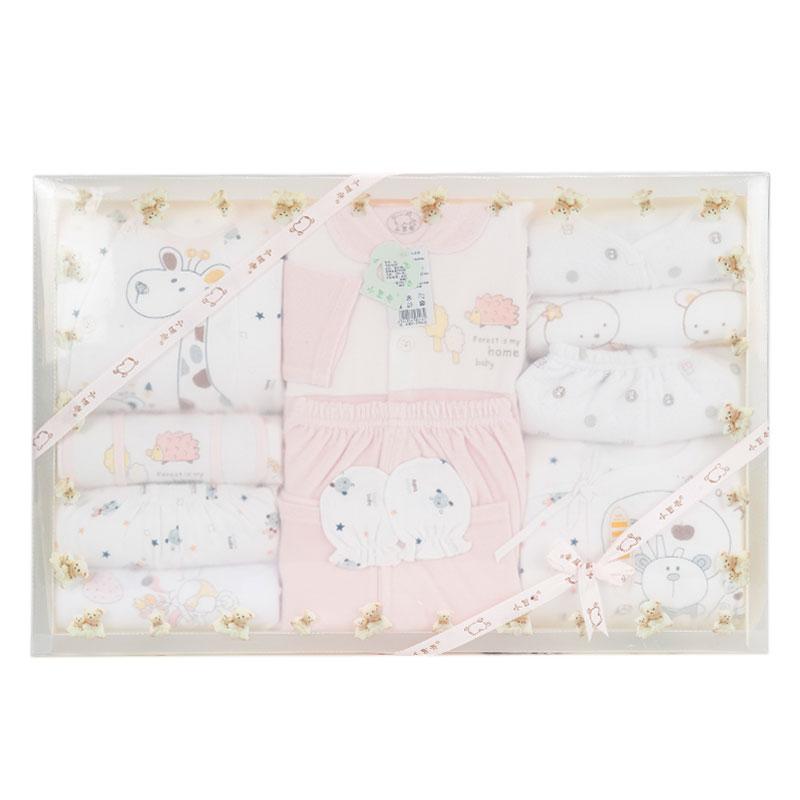 小豆壳(新)--高级服饰礼品盒12件套J-898粉混码CM盒