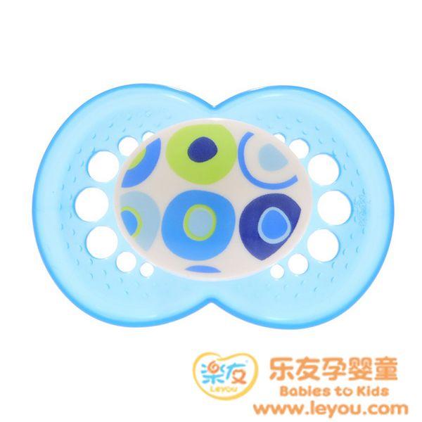 MAM标准型丝感安抚奶嘴单只/材质安全贴心舒适/匈牙利产
