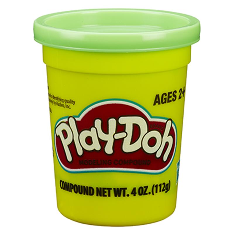 孩之宝(Hasbro)培乐多单杯装新版-绿色