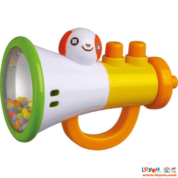 澳贝(Auby)喇叭摇铃婴儿宝宝益智玩具