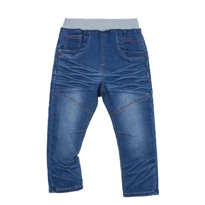 歌瑞家A类男童牛仔色针织牛仔长裤