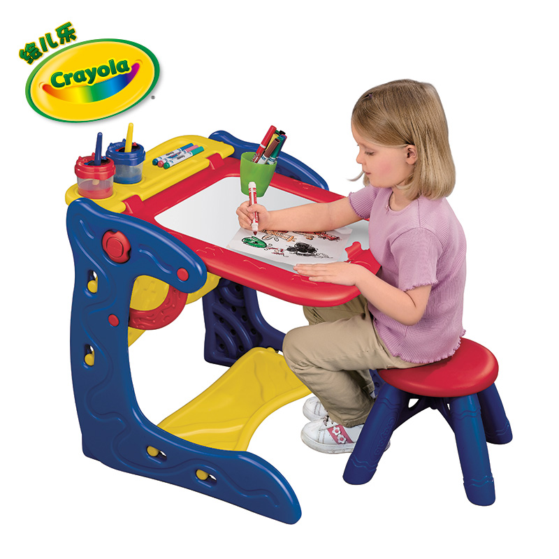 Crayola绘儿乐两用画架活动桌5029