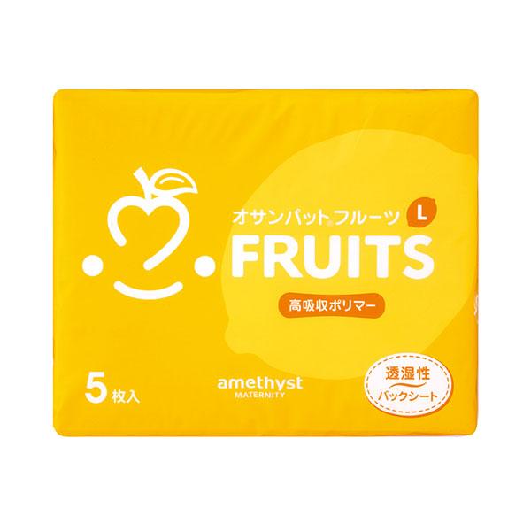 大卫Amethyst水果卫生巾混色L5片/包