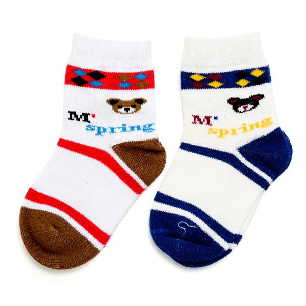 旭威(新)--优优宝宝袜(2双装)0115混色0-12个月月包