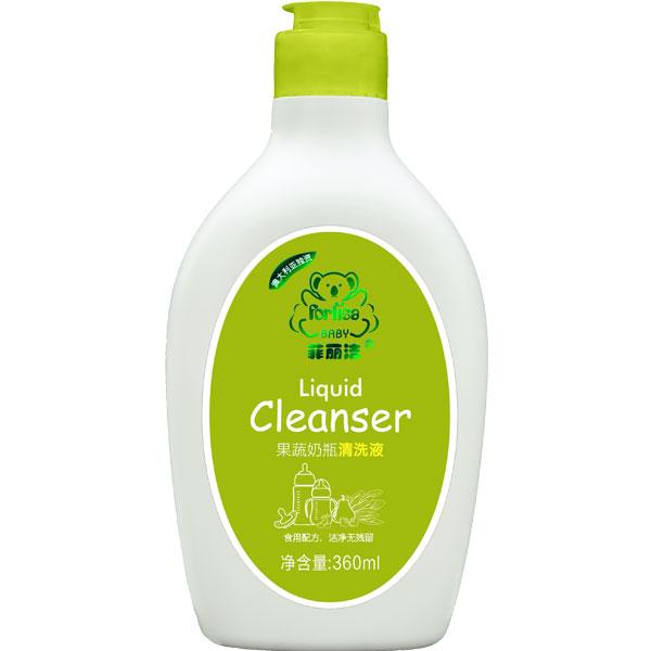 菲丽洁Forlisa果蔬奶瓶清洗液360ml婴儿奶瓶清洁液