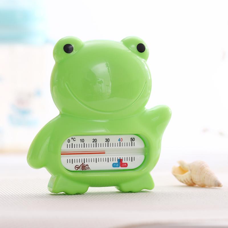 日康青蛙水温计宝宝洗澡游泳测量温度测温计